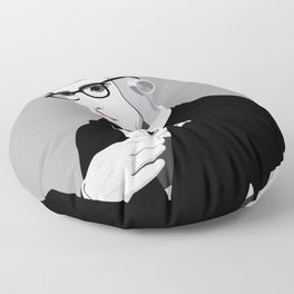 Paranoid Android Floor Pillow