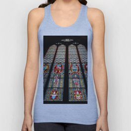 Cathedral Window Unisex Tank Top