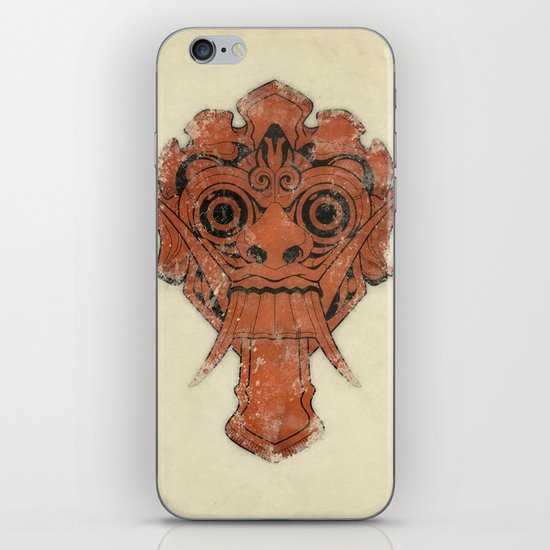 Mask iPhone & iPod Skin