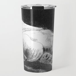 "Odilon Redon ""When Life was Awakening in the Depths of Obscure Matter"" Travel Mug"