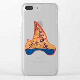 Shark Tooth Terrarium 3 Clear iPhone Case
