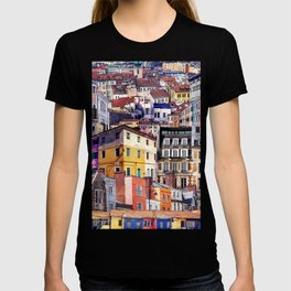 City Structures Collage T-shirt