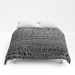Silver Chain Maille Comforters