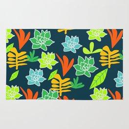 Cheerful plants Rug
