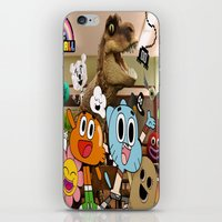gumball iPhone & iPod Skins featuring GUMBALL by rosita