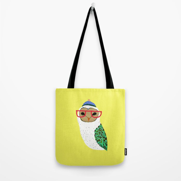 I Love Owls Tote Bag