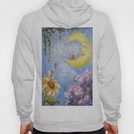Moon and Fairies Hoody