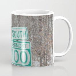Vermont Street Signs Coffee Mug