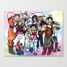 Sohoku Anime Club Canvas Print