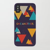 scripture iPhone & iPod Cases featuring One Another Scripture Poster (Romans 15) by Jess Creatives