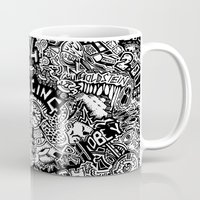 1984 Mugs featuring 1984 by  Grotesquer