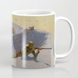 "Frederic Remington Western Art ""Fighting for the Waterhole"" Coffee Mug"