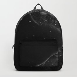Starry kisses B&W. Backpack