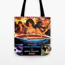 Vixen Highway 2006: It Came from Uranus! (2010)'. – Movie Poster Tote Bag