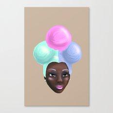 Miss IceCream Canvas Print