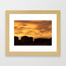 natural beauty of istanbul Framed Art Print