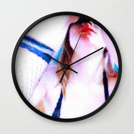 Line of Sight by Mary Bassett Wall Clock