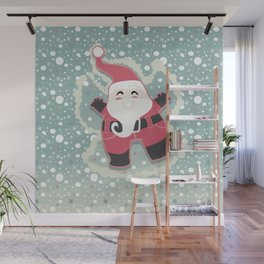 Festive moments - Snow Angel! Wall Mural