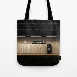 Empty Subway Tote Bag