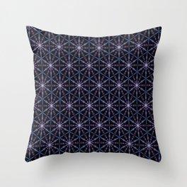 Femme Celestial, Dark Palette Throw Pillow
