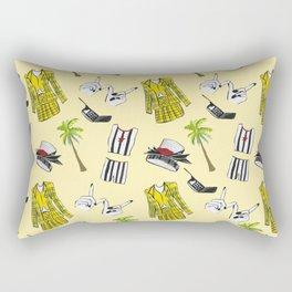 Clueless Pattern Rectangular Pillow