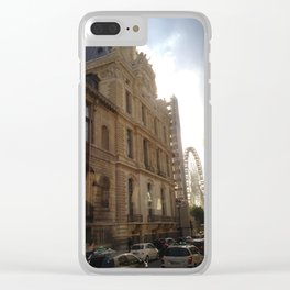Rolling around in Paris Clear iPhone Case