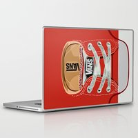 vans Laptop & iPad Skins featuring Cute red Vans all star baby shoes apple iPhone 4 4s 5 5s 5c, ipod, ipad, pillow case and tshirt by Three Second