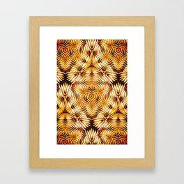 Bonitum Ornament #1 Framed Art Print