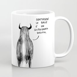 Mostro Brutto menefreghista Coffee Mug