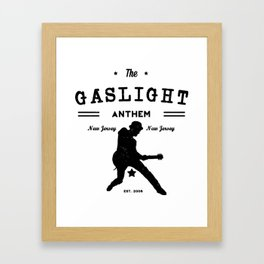 The Gaslight Athem Framed Art Print