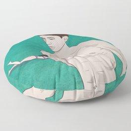 On the way Floor Pillow