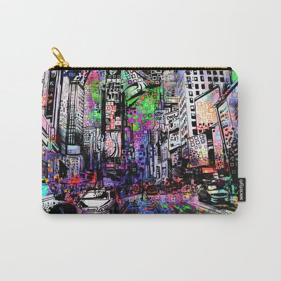 new york city urban collage Carry-All Pouch
