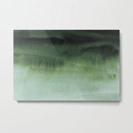 Sky Watercolor Texture Abstract 213 Metal Print