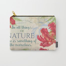Vintage Flower #21 Carry-All Pouch