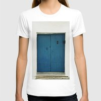 door T-shirts featuring Door by Those Lucky Days