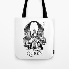 """""""QUEEN EXPEDITION"""" Tote Bag"""