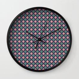Iberian Mosaic Wall Clock