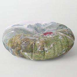 Mint Hut Floor Pillow