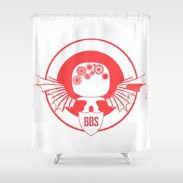 BBS v. SSR (Capt America version) Shower Curtain