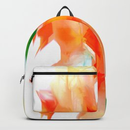 Yellow Flower Bouquet Backpack