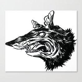 Rat Head Canvas Print