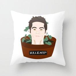 Halenip Throw Pillow