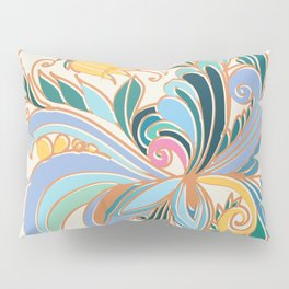Decorative flower ornament Pillow Sham