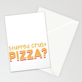 Funny Pizza - Food Lover - Muscle Stationery Cards