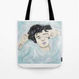 healy in water Tote Bag