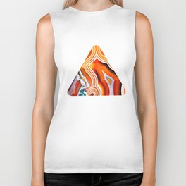 The Vivid Imagination of Nature, Layers of Agate Biker Tank