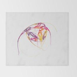leichte Linien   (A7 B0134) Throw Blanket