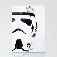 trooper Stationery Cards featuring Trooper by Purple Cactus