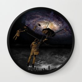 Escape from the city Wall Clock