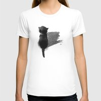 kitty T-shirts featuring kitty by Anja Lechner